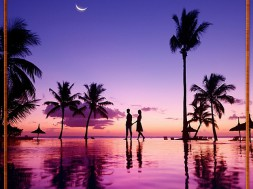 A romantic stroll on a tropical island would be so lovely right now!