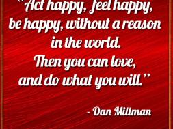 Act Happy, Feel Happy