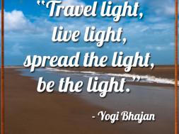 Travel Light, Live Light