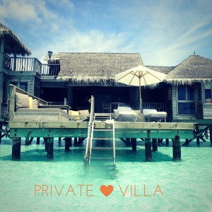 Your own private villa!