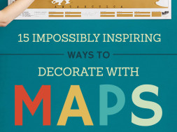 Decorate Your Home With Maps